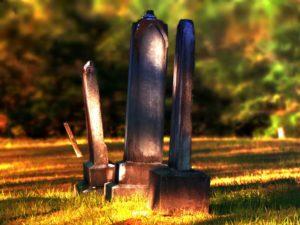 grób na polanie