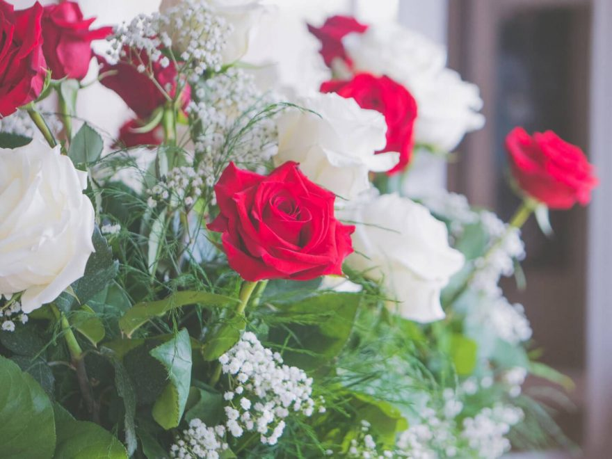pogrzebowe kwiaty